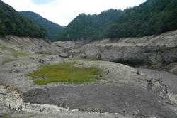 渇水鳳来湖.jpg